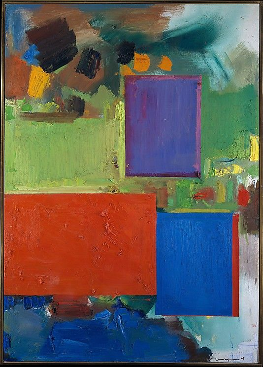 Rhapsody, Hans Hofmann: Abstract Art, Art Inspiration, Color, Abstract Expressionism, Metropolitan Museum, Rhapsody 1965, Art Paintings And
