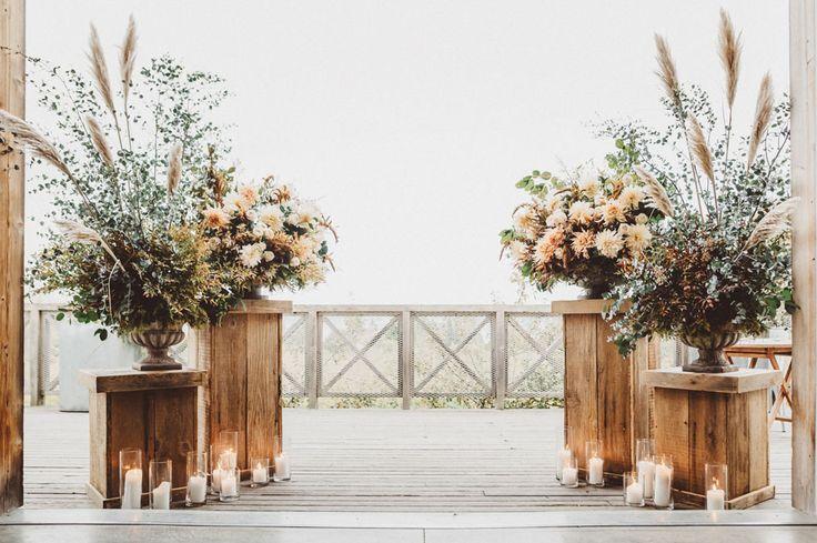 Autumn Ciderhouse wedding ceremony site