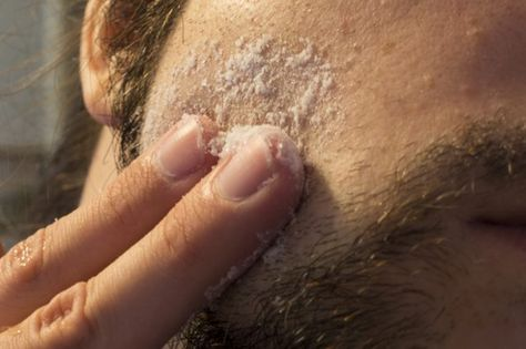 Ingrown pimples happen when hairs in the follicles become trapped underneath the skin, causing inflammation and infection. Ingrown pimples are common in areas that crease or are shaved frequently, such as the bikini line, under arms, or face. To relieve i