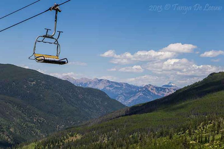 The view from the chairlift on a quiet summer's afternoon. Panorama Mountain, BC, Canada. http://tanyadeleeuw.smugmug.com/Scenic