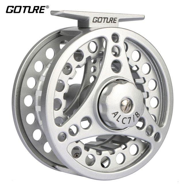 Goture Alc Fly Fishing Reel 3 4 5 6 7 8 Wt Aluminum Frame Spool Left Right Hand Die Casting Fly Reel Coil Pesca 2 1bb Fishing Reels Fly Reels Fly Fishing Reels