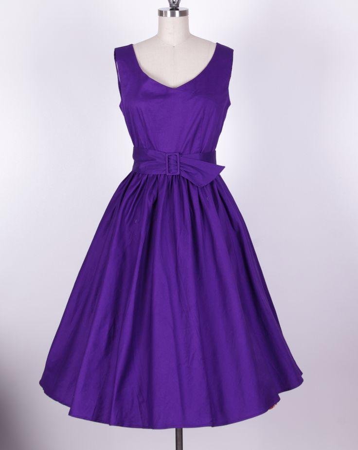 10 Best ideas about Purple Vintage Dresses on Pinterest  Purple ...