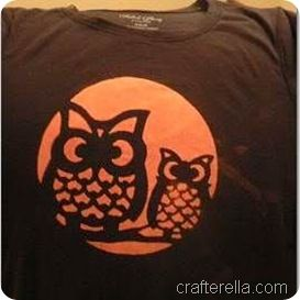 from crafterella homemade halloween tshirt using bleach - Homemade Halloween Shirts