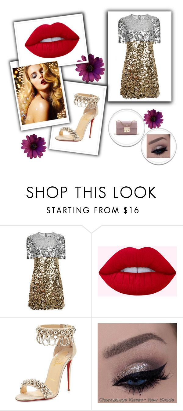 """Signo Lion"" by rebecioatto on Polyvore featuring moda, Dolce&Gabbana e Christian Louboutin"