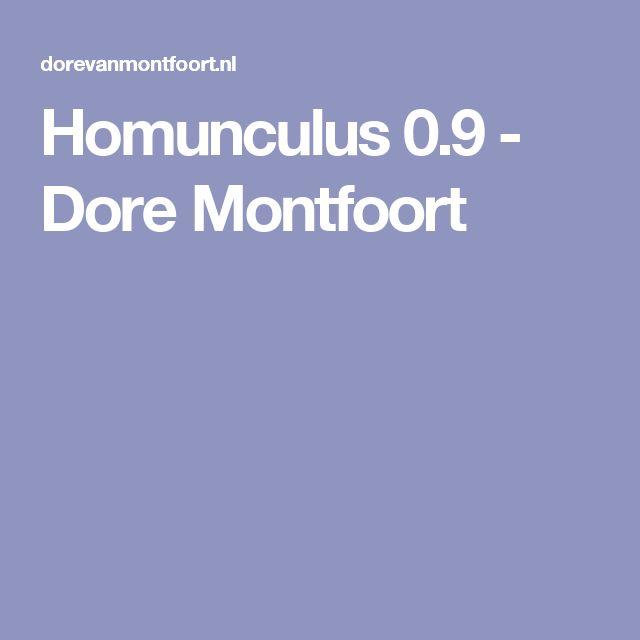 Homunculus 0.9 - Dore Montfoort