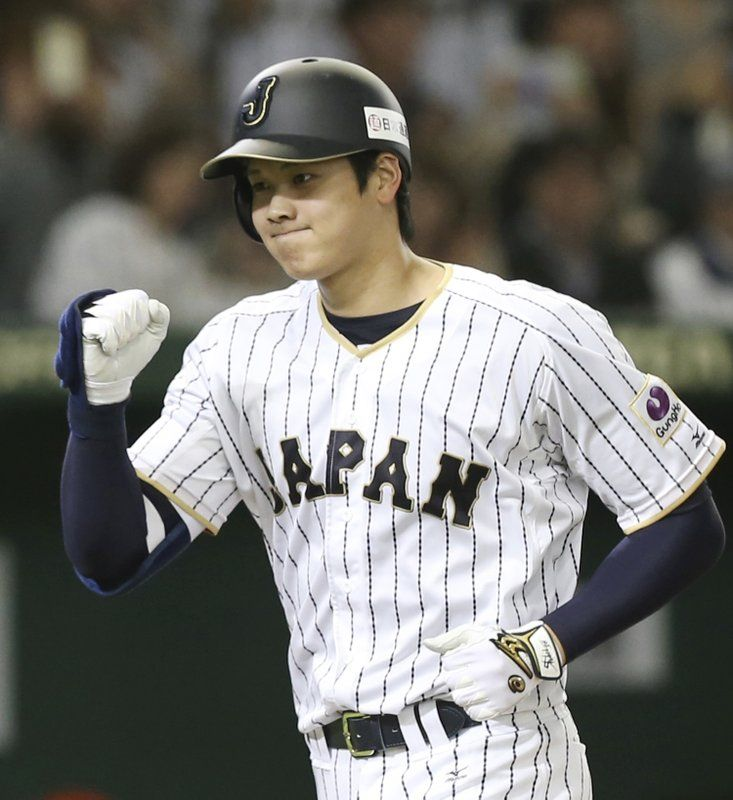 Japanese Star Otani Announces Desire To Move To Mlb Fantasy Baseball Japanese Baseball Player Twins Baseball