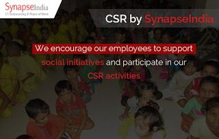 SynapseIndia CSR Initiatives and activities: Employees participation in SynapseIndia CSR Activi...