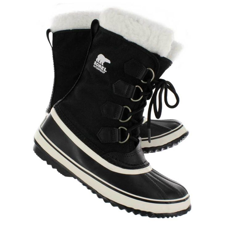 Sorel Women's WINTER CARNIVAL black winter boots nl1495-011