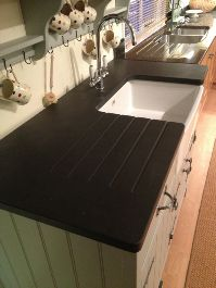 Dream Welsh kitchen, must have slate work tops :)