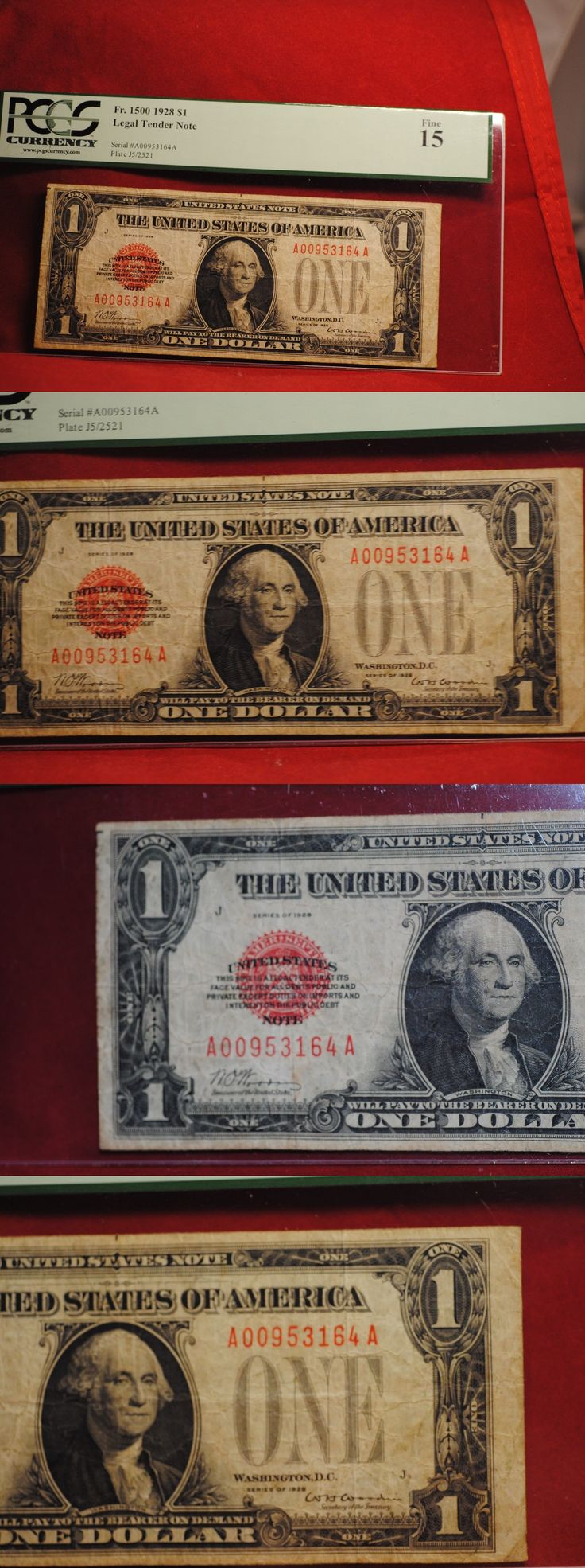 Paper Money: Us Currency: 2.00 1928 Legal Tender Pcgs Fine 15 Fr. 1500 BUY IT NOW ONLY: $119.0