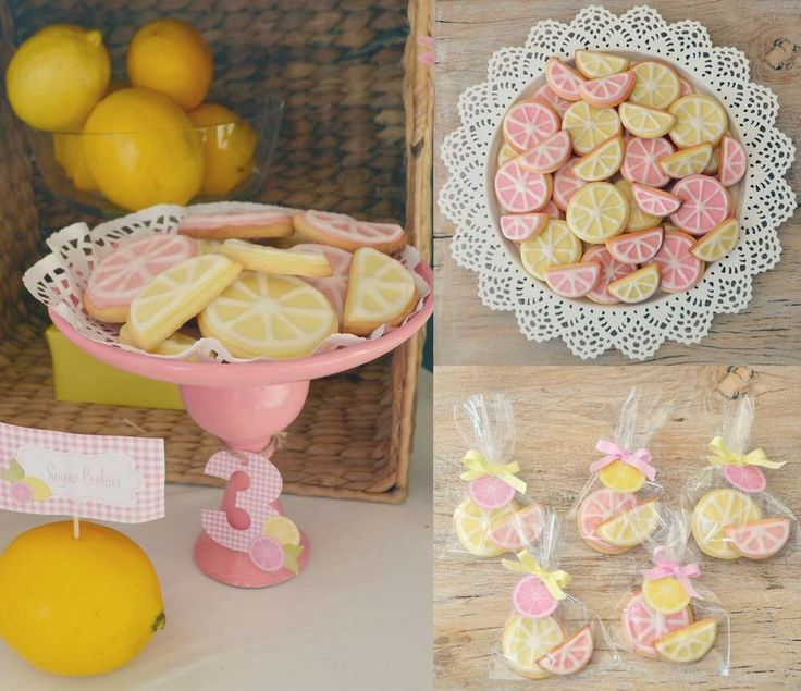 Pink Lemonade Birthday Party Ideas | Photo 1 of 24 | Catch My Party