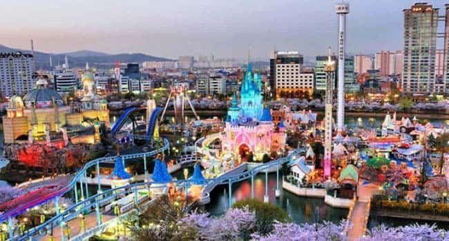Taman Hiburan Lotte World - Tempat Wisata Di Korea Selatan yang Paling Populer