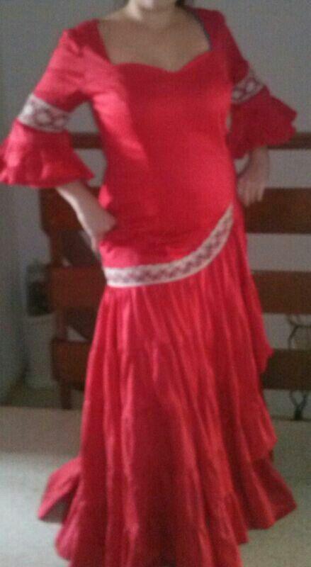 Vestido flameca