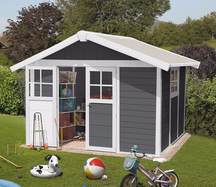 Amazing Grosfillex Deco 10ft X 8ft PVC Shed