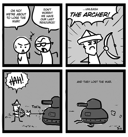The archer!