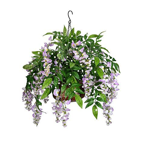 $89.95 + $8.23S&H H & P Sales Artificial Wisteria Hanging Basket Very pretty, and I can never kill it!!