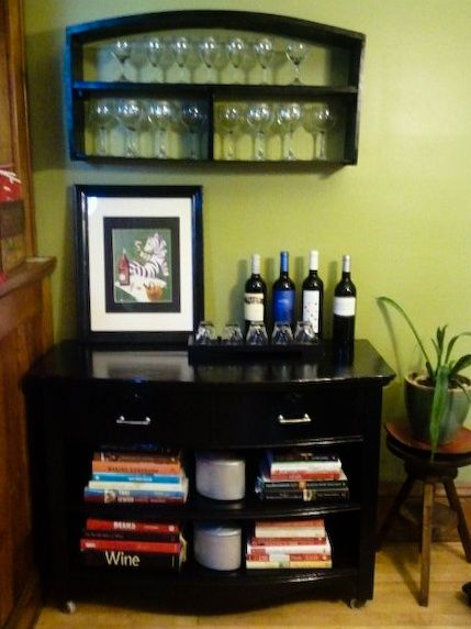repurposed dressers into wine bar | just b.CAUSE