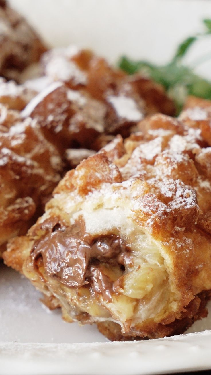 食パンでサクサクチョコバナナパイ ~ レシピ | Tastemade