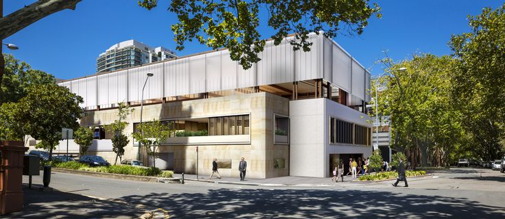 St. Vincent's College Multi purpose sports building, library & administration centre  Sydney