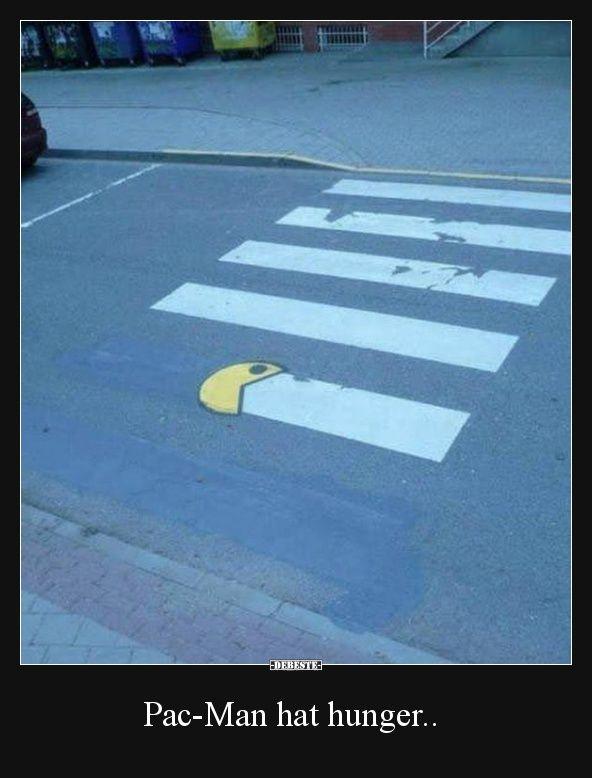 Pac-Man hat hunger.. | Lustige Bilder, Sprüche, Witze, echt lustig