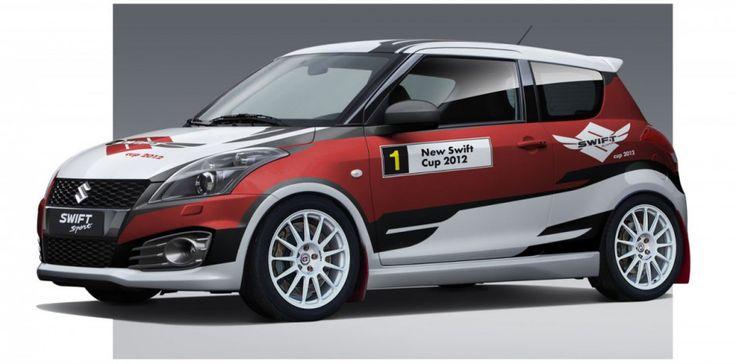 Zellhofer Motorsport - M. Zellhofer (Suzuki New Swift Cup) - wrap design and logo design for season 2012.