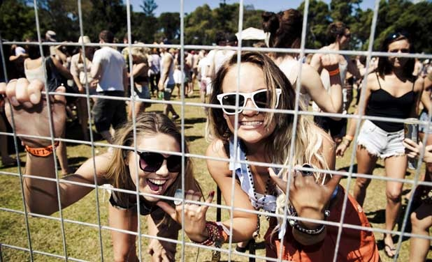 There was no escape from the fun at Adelaide Parklife 2011