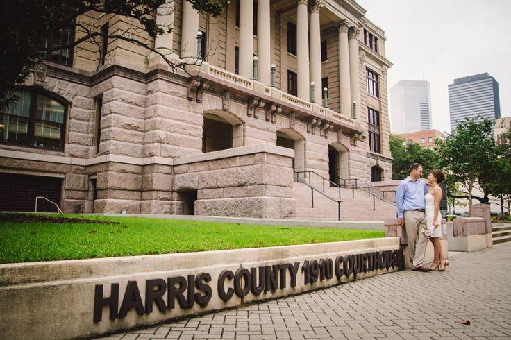 harris county courthouse wedding photos