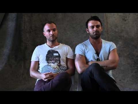 """Ryan Murgatroyd, Konstantinos """"Kosta"""" Karatamoglou chat about posing nude. These guys are hilarious!"""