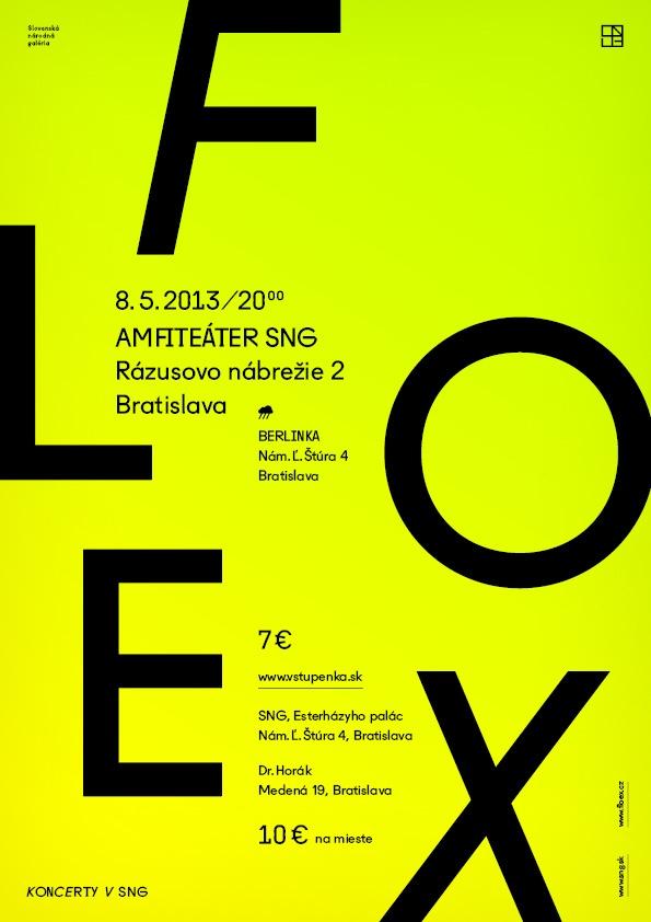 8.5.2013 Floex (CZ), Amfiteáter SNG, Bratislava