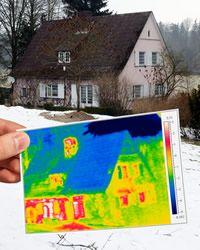 #Energieberatung #Köln  #Thermografie - #Wärmebildkamera