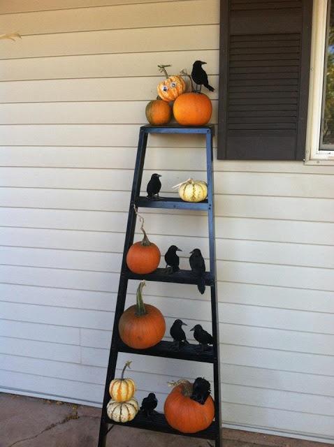 Halloween Tuin Garden Ideas Idee Versieren Pompoen Pumpkins