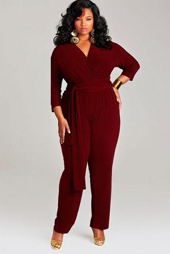 plus size jumpsuits | Plus-Size Fashion / Plus Size Jumpsuits - Cute Rompers