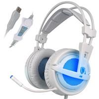 USB 7.1 Surround Sound USB Stereo Gaming Headphones With Noise Cancelling