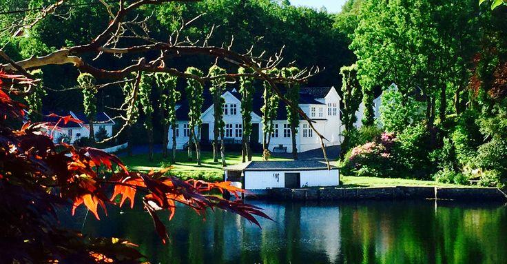 Alvøen hovedgård ved Bergen 🇳🇴