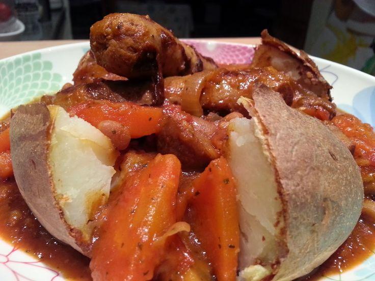Slimming World Delights: Sausage Casserole