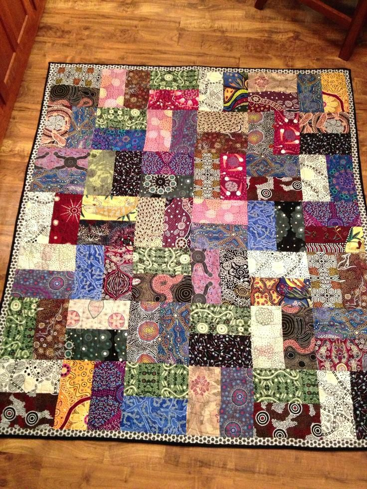 Easy Strip Quilt Patterns For Beginners Aussie Fence Easy Strip