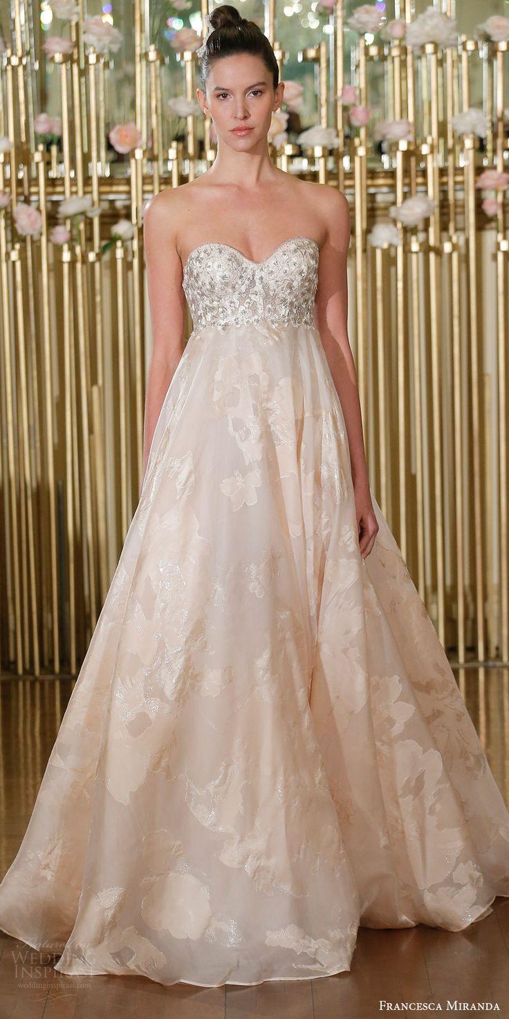 Francesca Miranda Spring 2018 Wedding Dresses — New York Bridal Fashion  Week Runway Show