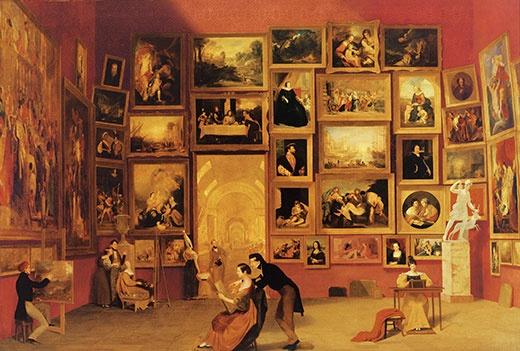 Samuel Morse Gallery Louvre