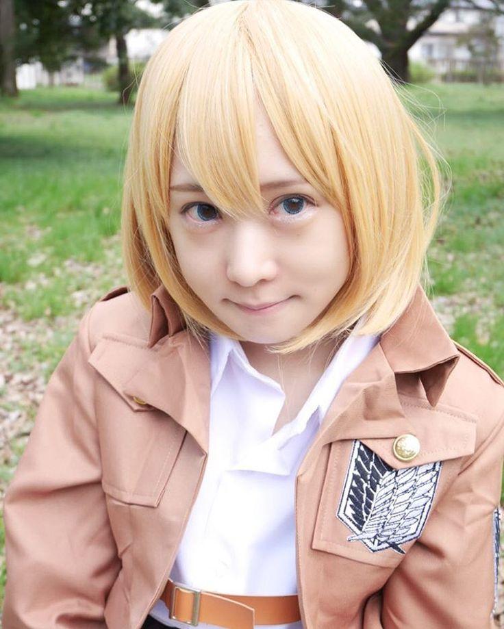 "1,259 Suka, 117 Komentar - あま津うに(・ω・)AmatsuUni (@amatsuuni) di Instagram: ""Throwback(Armin Cosplay)"""