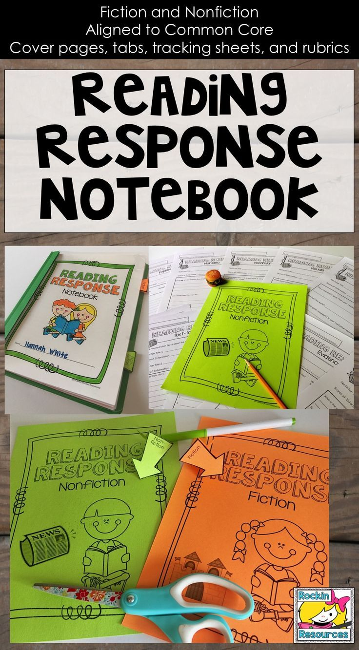 This reading response notebook is perfect to use when tracking student progress and learning.  The specific questions designed for each skill or strategy guide students to understand that skill and comprehend their reading.  Both fiction and nonfiction response questions are included!  Click to find out more!