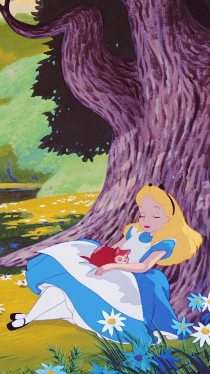 Pin By Kar3n 59 On Wallpaper Alice In Wonderland Cartoon Disney