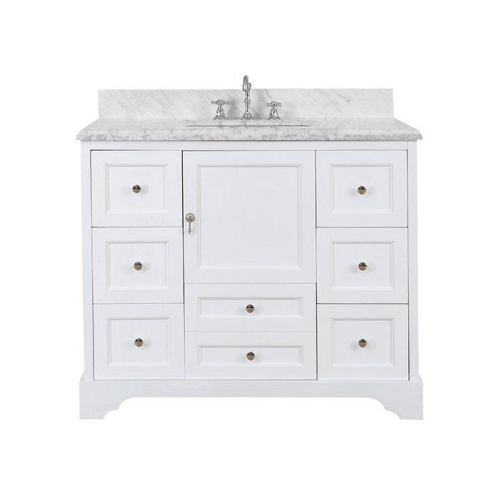 Kbc Madison 42 Single Bathroom Vanity Set Reviews Wayfair Bathroom Vanity Single Bathroom Vanity Vanity