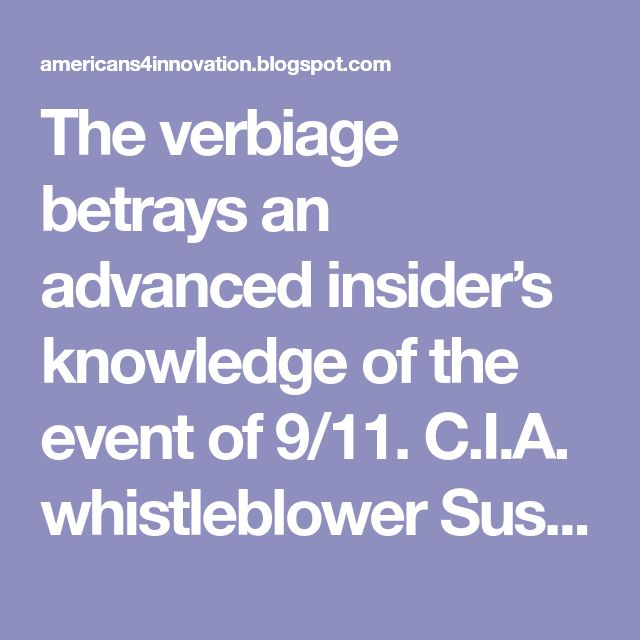 The verbiage betrays an advanced insider's knowledge of the event of 9/11. C.I.A. whistleblower Susan Lindauer [VIDEO] says that the plan to crash planes into the World Trade Center was well known within the C.I.A. as early as April 15, 2001. It is highly suspicious that Richard Walker jumped on the 9/11 tragedy to promote his patent claims for The Internet of Things just days following the tragedy.