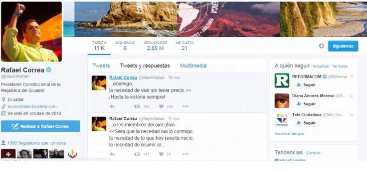 Contraloría no encontró incremento no justificado del patrimonio del presidente Correa - El Telégrafo