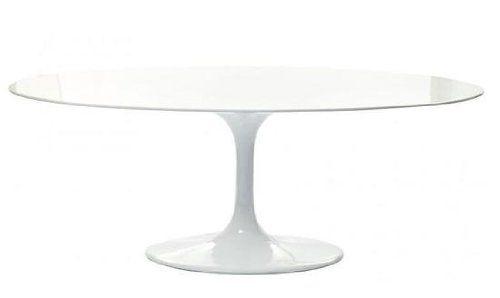 "Saarinen Style Table 78"""" Oval - Fiberglass East End http://www.amazon.com/dp/B00895BJIK/ref=cm_sw_r_pi_dp_yXcTtb0Z2RT34E8Y"