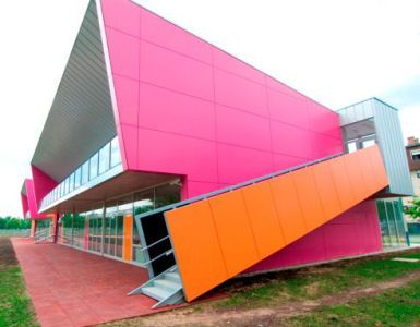Jarun Kindergarten in Croatia.  Architects: Penezic & Rogina