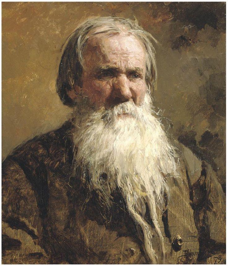 Василий Поленов (1844-1927) Портрет Василия Петровича Шлеголёнка 1879 г.