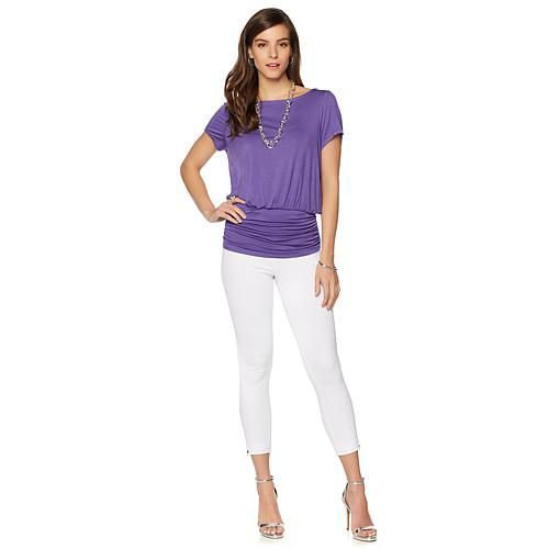 Colleen Lopez Favorite Basic Top - Star White
