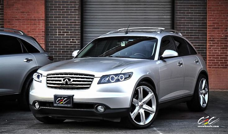 Infiniti FX45 with Custom Wheels by CEC in Los Angeles CA . Click to view more photos and mod info.