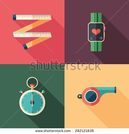 Sport and health flat square icons with long shadows. #sport #sporticons #flaticons #vectoricons #flatdesign